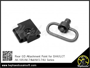 Rear QD Attachment Point for GHK/LCT AK-105/AK-74M/AKS-74U Series