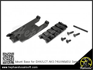 Mount Base for GHK/LCT AKS-74U/AKMSU Series