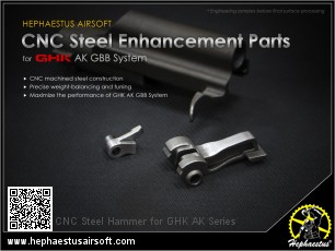 CNC Steel Hammer for GHK AK Series