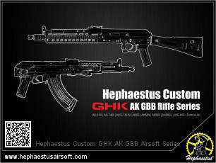 Hephaestus Custom GHK AK GBB Rifle Series