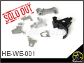 CNC Steel Trigger Assembly for WE AK GBB Rifle