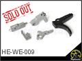 CNC Steel Trigger Assembly for WE M4 GBB Rifle
