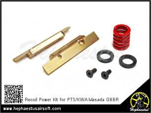 Recoil Power Kit for PTS/KWA Masada GBBR