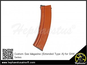 Custom Gas Magazine (Extended Type A) for GHK AK Series