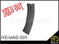 Custom Gas Magazine (Extended Type B) for GHK AK Series