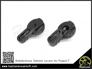 Ambidextrous Selector Levers for Project-T